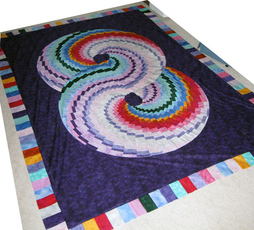 Double Spiral Quilt