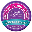 I finish my quilts on my Handi Quilter Sweet Sixteen